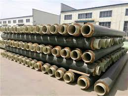 Internal and external plastic composite steel pipe